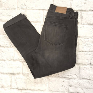 """Madewell 10"""" High Rise Skinny Black Jeans size 24"""